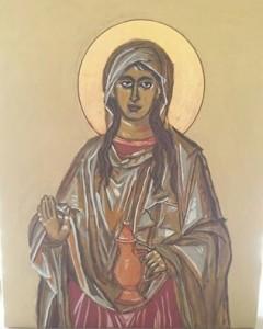 Ikon: Maria Magdalene